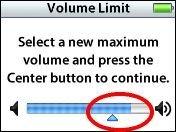 Nuevo firmware del iPod permite limitar el volumen