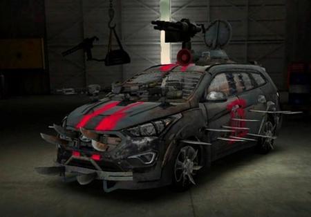 Hyundai Snta Fe Zombie Survival