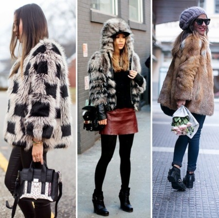 bloggers fur coat