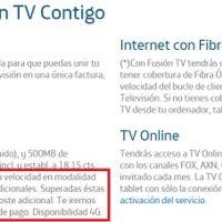 Si quieres los 300 o 30 megas de fibra de Movistar prepárate para pagar por el exceso de datos