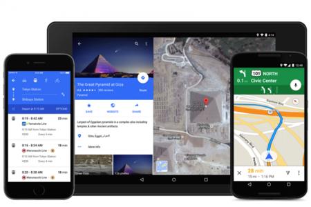 Google Maps 9.0, material design y más funciones