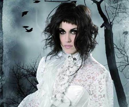 Cabellos de cuento gótico, lo nuevo de Felicitas Hair para el otoño 2009