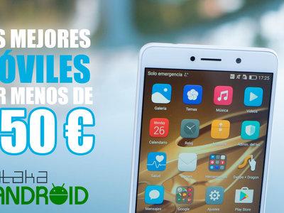 Los mejores móviles Android por menos de 250 euros (enero 2017)