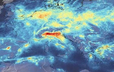 El lado B del coronavirus: la contaminación en Europa se reduce a mínimos históricos