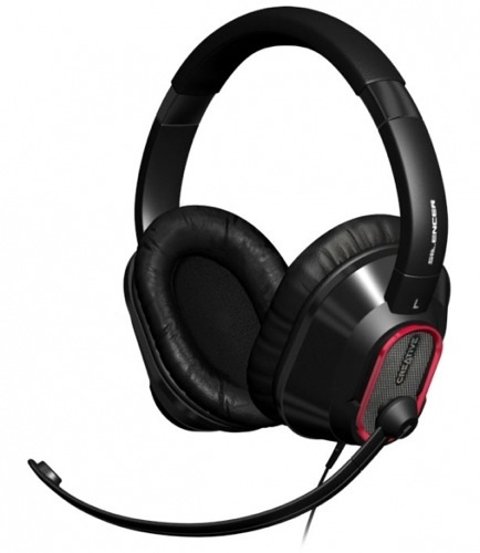 Creative Headset HS-1100, auriculares con micrófono para jugadores