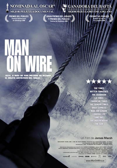 'Man on Wire', el documental que ya teníamos que haber visto