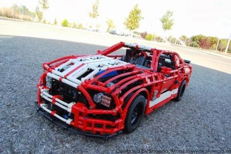 Shelby Mustang GT500 de LEGO