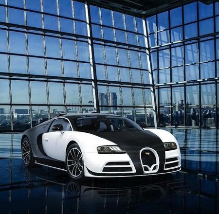 ¿Un Bugatti Veyron en blanco y negro? Es posible de la mano de Mansory