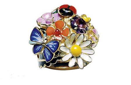 Colección Diorette, anillos de fantasía