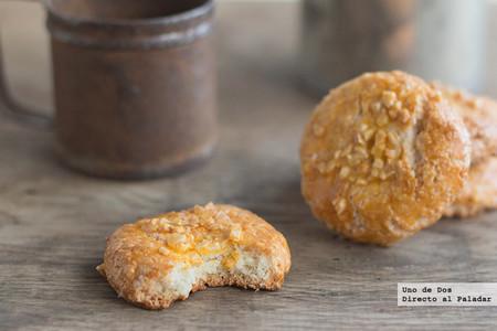 Galletas crujientes de almendra, receta fácil y rápida