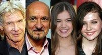 Harrison Ford, Ben Kingsley, Hailee Steinfeld y Abigail Breslin quieren jugar con Ender