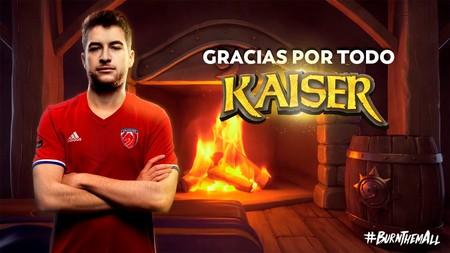 El adiós de todo un campeón de España de Hearthstone: Kaisercillo cuelga el ratón