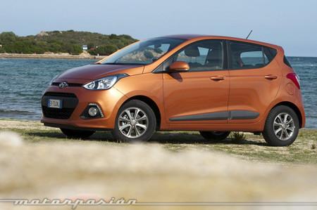 Hyundai i10 2013, presentación y prueba en Cerdeña