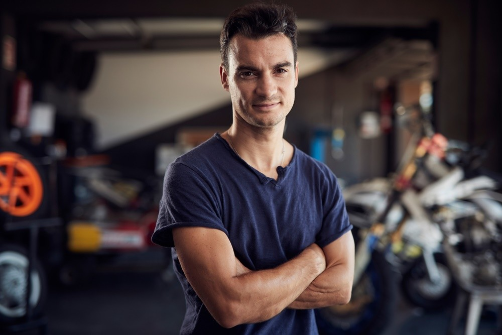 Cafe Racer Dani Pedrosa