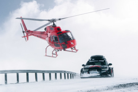 No te pierdas el Audi RS6 DTM de Jon Olsson en modo máquina quitanieve