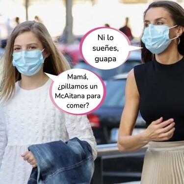 La infanta Sofía tiene morriña: su plan junto a Letizia y Paloma Rocasolano para asumir la marcha de Leonor