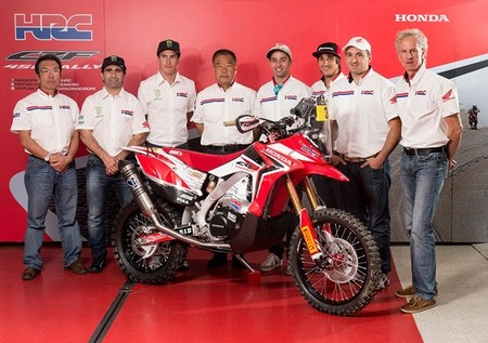 Team HRC Dakar
