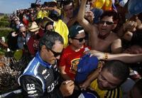 Juan Pablo Montoya es el piloto más popular de la IndyCar 2014