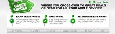 Order Border, encuentra y compra auténticas gangas para tus productos Apple