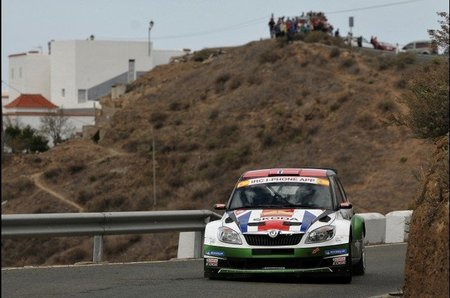 Los Skoda a otro nivel en el primer día del Rally Islas Canarias