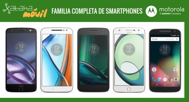Así queda el catálogo completo de móviles Motorola tras la llegada del Moto Z Play by Lenovo
