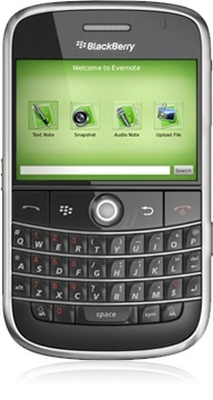 Evernote para Blackberry