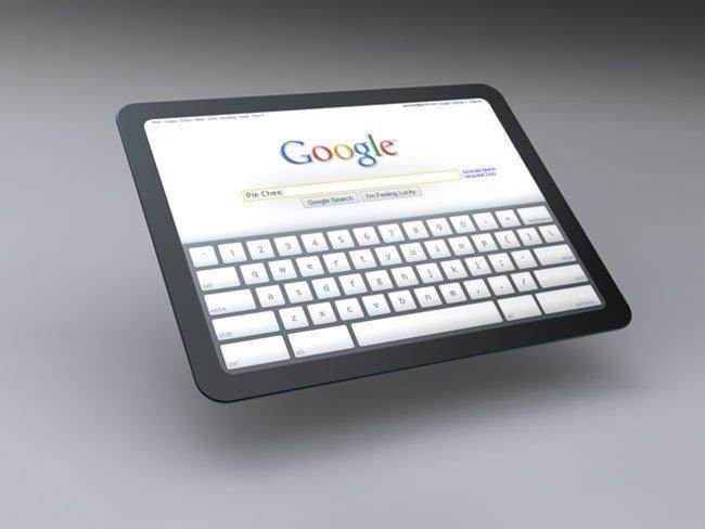 Un hipotético tablet con Chrome OS