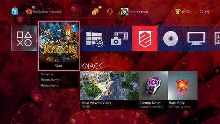 PS4 - detalles e imágenes sobre la actualización 2.00; reproductor de música y más