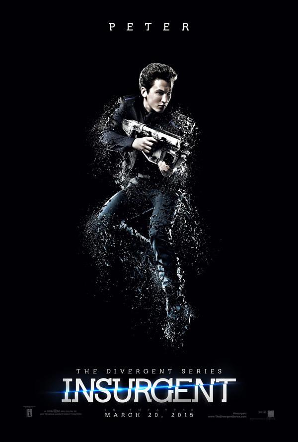 'La Serie Divergente: Insurgente', carteles
