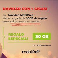 Mobilfree regala 30 GB a todos sus clientes por navidad y estrena tarifa móvil