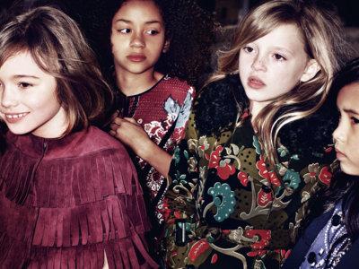 Cuando la hija va más fashion que mamá y encima de Burberry