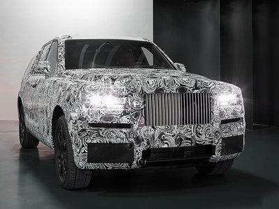 ¿Un Rolls-Royce SUV? El proyecto se llama Cullinan y estas son las primeras imágenes