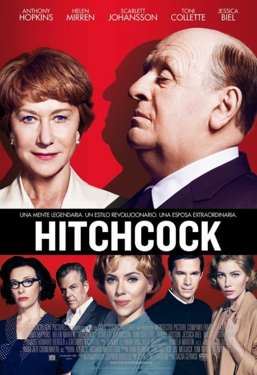 'Hitchcock', carteles