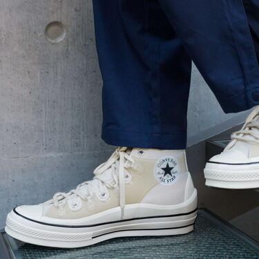 Kim Jones interviene las icónicas Chuck Taylor de Converse sumándoles volumen a su característica silueta