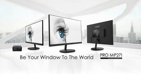 MSI anuncia tres nuevos monitores pensados para profesionales: MSI PRO MP271, PRO MP271P y MSI PRO MP271QP