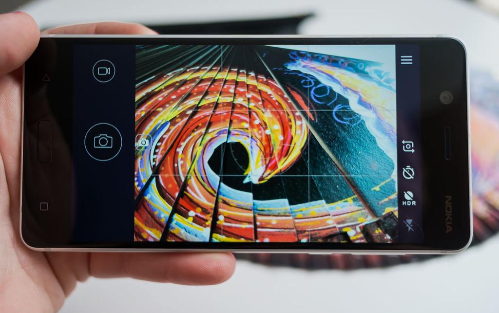 Nokia 5 Camara Interfaz