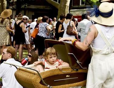 Aquellos maravillosos años: el carrito de bebé