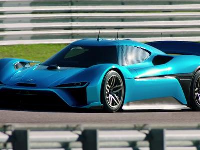 NIO bate el récord de velocidad para un vehículo eléctrico y autónomo: 257 km/h