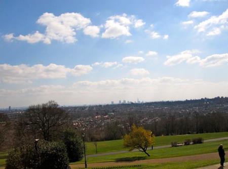 Londres desde Alexandra Park
