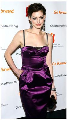 Anne Hathaway imagen de Lancôme