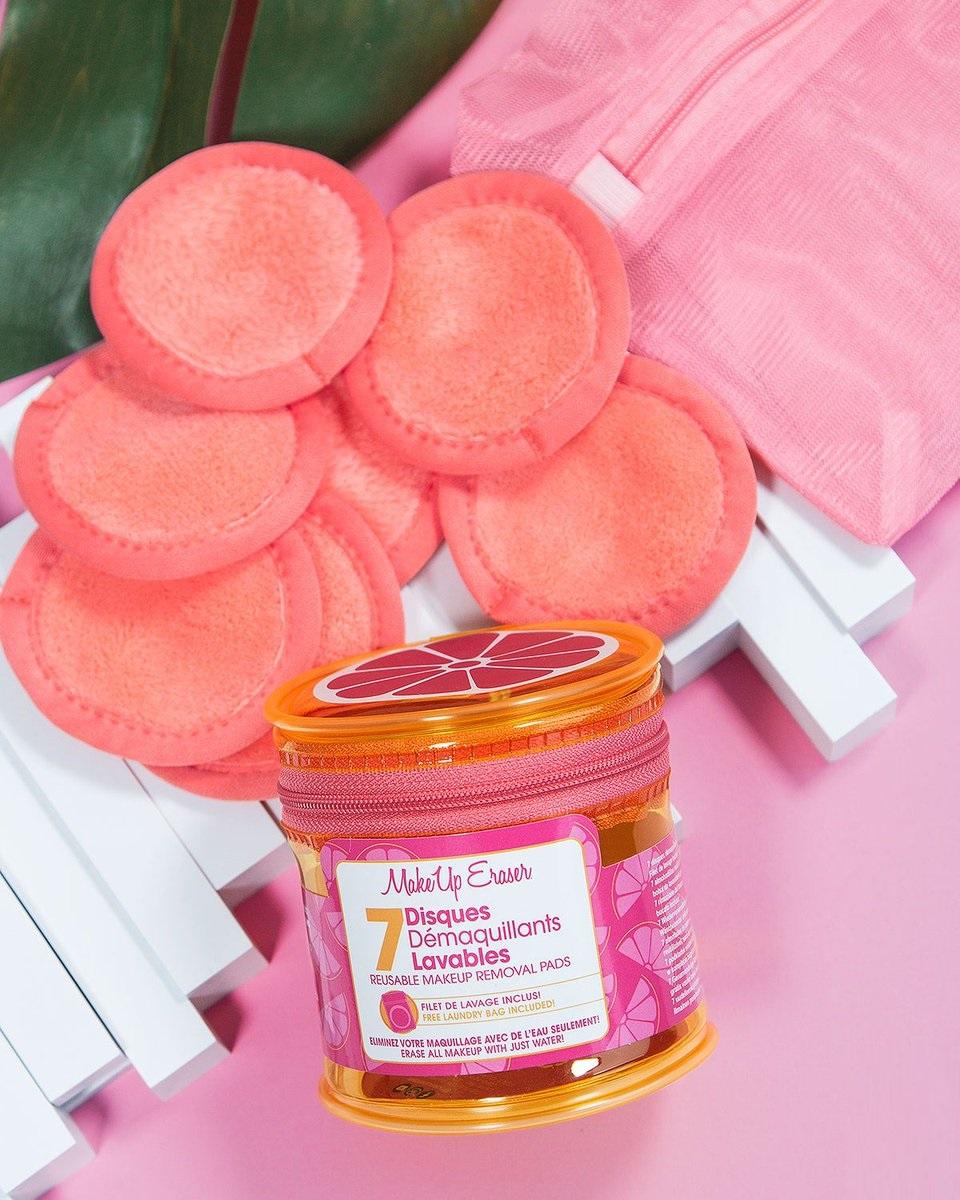 Discos desmaquillantes lavables de Makeup Eraser
