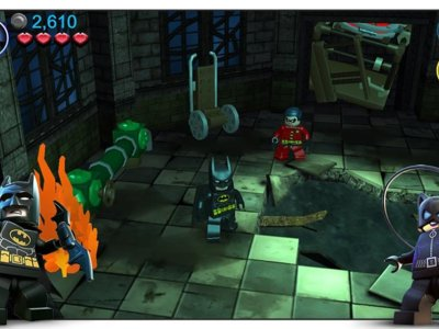 LEGO Batman: DC Super Heroes llega a Android, lucha para meter a los malvados entre rejas