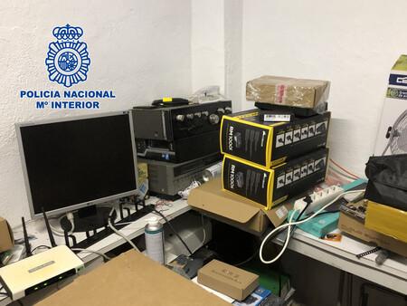 Seis personas, arrestadas por vender de forma ilícita servicios IPTV y televisión por satélite con la que conseguían unos 150.000 euros anuales