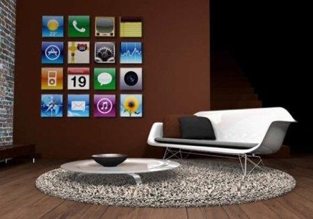 Cuadros iPhone para la casa de un geek