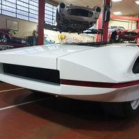El Ferrari Modulo regresa a la vida luego de ser pasto de las llamas