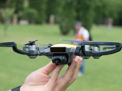 DJI Spark, hemos probado el dron que puedes controlar con gestos como si fueras un Jedi