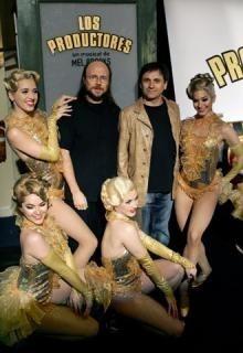 El musical de Mel Brooks 'Los productores' en España, con Santiago Segura.