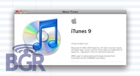 Aparecen supuestas nuevas capturas de pantalla de iTunes 9