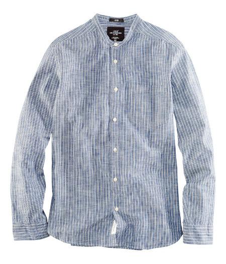 Camisa lino rayas H&M 2013