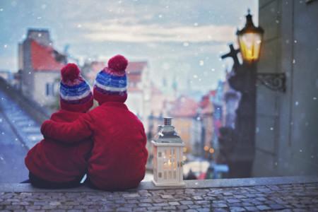 Las calles en Navidad